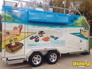 Custom Built Mobile Business Trailer with Living Quarters for Sale in Indiana!!!
