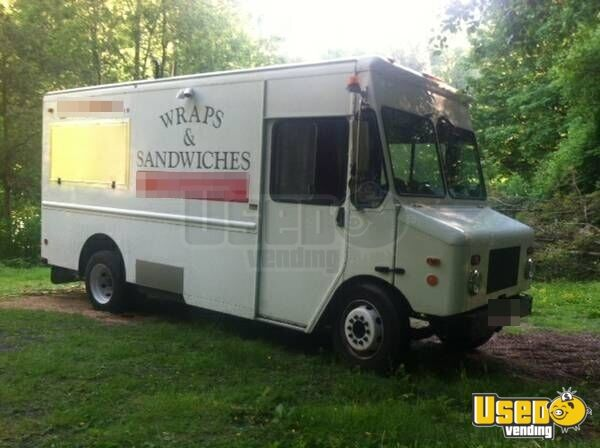 chevy workhorse food truck mobile kitchen for sale in washington. Black Bedroom Furniture Sets. Home Design Ideas