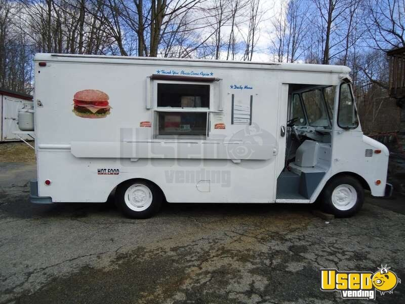 Taco Amp Burger Food Truck Mobile Kitchen For Sale In New York