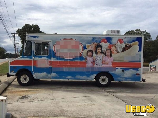 for sale used gmc p30 food truck in tennessee ice cream truck. Black Bedroom Furniture Sets. Home Design Ideas