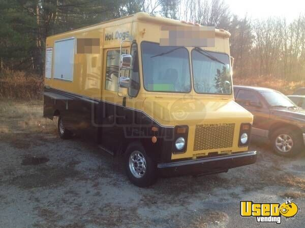 for sale used grumman olsen food truck in massachusetts mobile kitchen. Black Bedroom Furniture Sets. Home Design Ideas