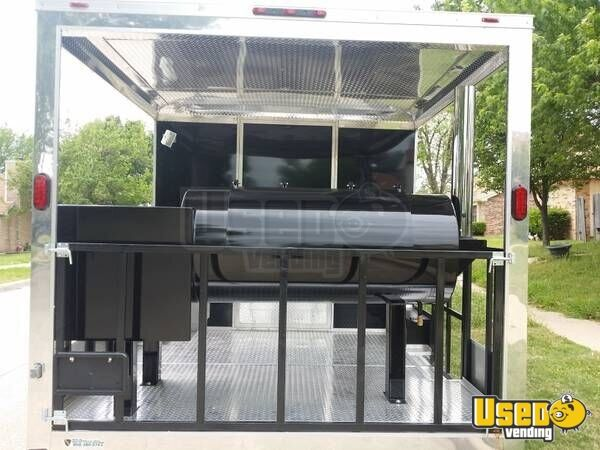 8 5 X 22 Bbq Concession Trailer With Porch Kitchen