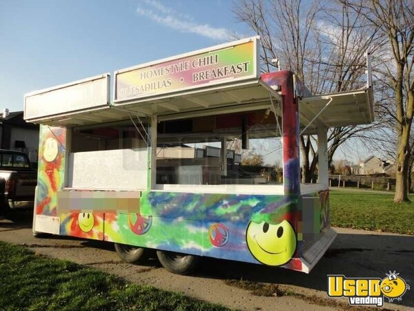 8 x 20 Custom Food Concession Trailer!!!