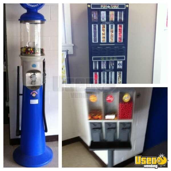 mechanical snack vending machine