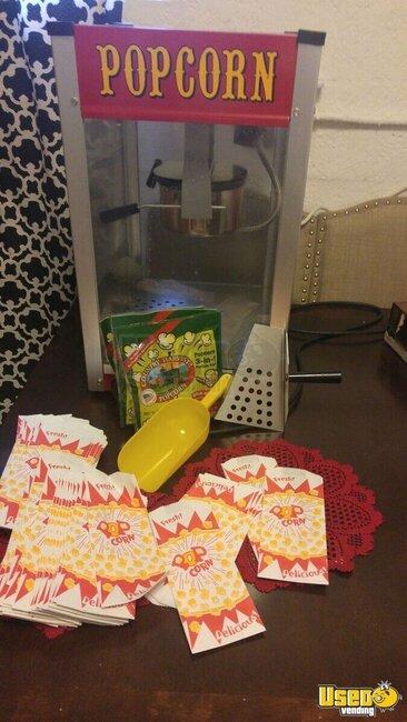 used pop corn machine