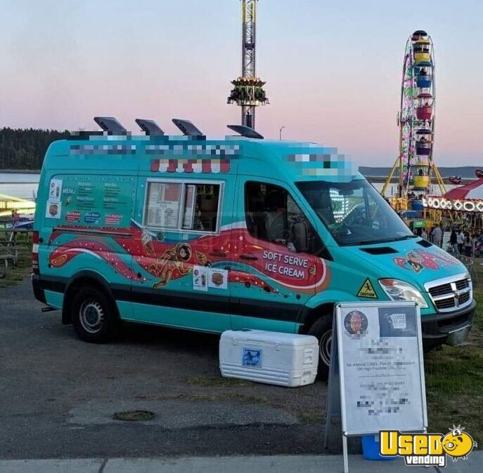 Ice Cream Trucks For Sale >> Details About 2008 Dodge Sprinter 2500 Ice Cream Truck For Sale In Washington