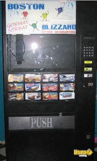 Electrical Snack Amp Soda Vending Machines F631 Frozen