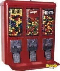 (25)- 2007 Triple Head Bulk Candy Vending Machines!!!