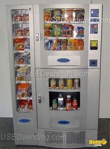 (2) - 2010 Antares Office Deli Snack, Soda & Entree Combo Vending Machines for Sale in California!!!