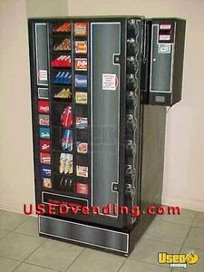 (3) - 1997 Planet Antares Refreshment Center Natural Choice USA Combination Snack and Soda Vending Machines with Dollar Bill Changers!!!