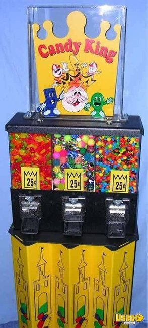 Used Bulk Candy Vending Machines New Used Gumball