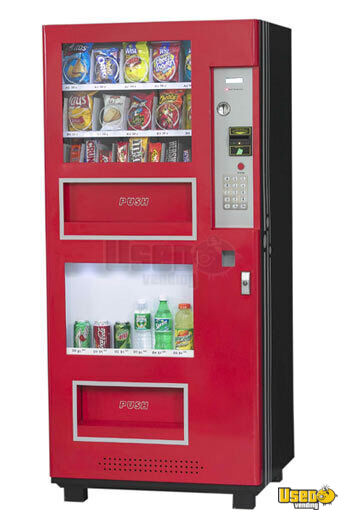 (2) GO326 RED Electrical Combo Vending Machines!!!