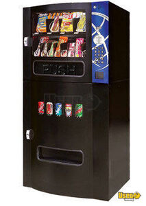 (2) - 2007 Fresh O Matic Compact Refreshment Center Combination Snack and Soda Vending Machines- New, Never Used!!!