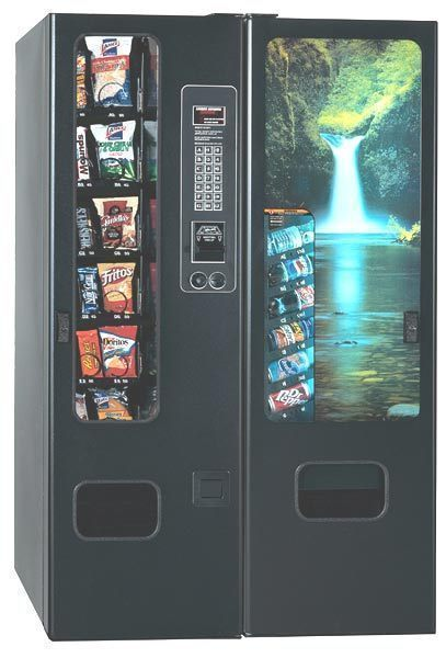 snack & soda vending machine combo