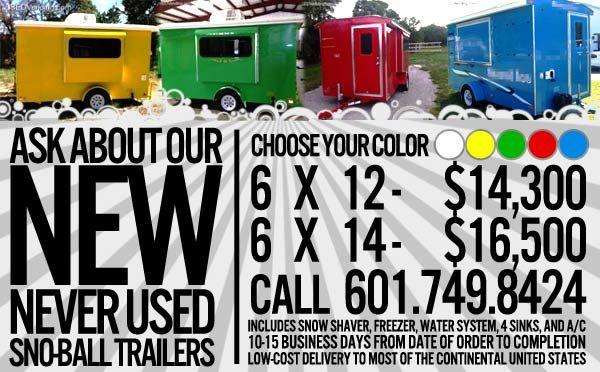 snoball trailers