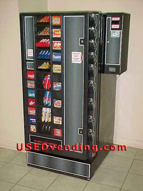 Antares Refreshment Center Vending Combo